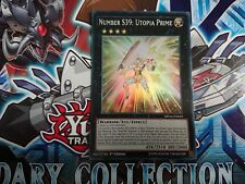 YUGIOH Number S39: Utopia Prime Super Rare 1st Edition MP16-EN043