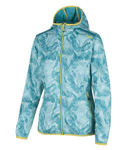 CAMPAGNOLO CMP Woman Fix Hood Jacket, Damen, Softshelljacke, blau