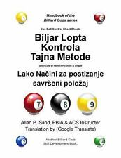 Cue Ball Control Cheat Sheets (Croatian) : Secrets on How to Achieve Perfect...