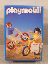 Playmobil 3300 BMX Bikes Girl Boy NEW NIB sealed
