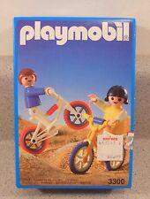 Playmobil 3300 BMX Bikes Girl Boy NEW NIB sealed