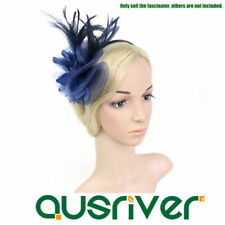 Flowers Clip Feather Fascinators for Women