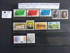 Bund Lot Sondermarken gestempelt / Rundstempel aus Jahrgang 1978 - 2000