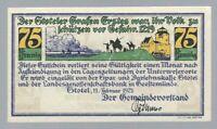 Notgeld - Stotel - Gemeinde Stotel - 75 Pfennig - 1921 - Wz. Tropfen