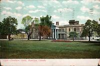 HAMILTON Ontario Vintage Postcard– Dundurn Castle-1908 *Free Shipping*
