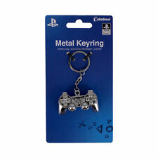 Sony PlayStation Image Shiny Chrome 3D Metal Key Chain Key Ring NEW UNUSED