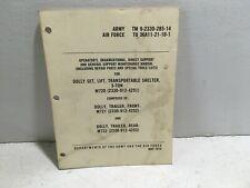 Tm 9-2330-285-14 Department of Army Manual. M720. M721. M722. 1974