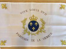 DRAPEAU De Stofflet Sacre COEUR ROYAL CHOUAN ROI FRANCE VENDEE CATHOLIQUE