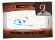 Brandon Harris NFL 2011 Timeless Treasures AUTO ROOKIE CARD (Houston Texans)/463
