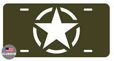 LICENSE PLATE ARMY CUSTOM DURABLE ALUMINUM HIGH QUALITY FULL COLOR  LP#0010