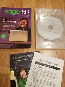 SAGE 50 Pro Accounting 1 User 2020 NO KEY CODE