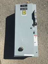 Combination starter size 0  30 amp Square 3 pole Square D