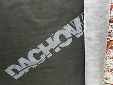 DIFFUSIONSOFFEN Unterspannbahn Unterdeckbahn DACHOWA 115q/m² Rolle 1,6m 80qm