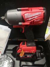 "18 Milwaukee M ONEFHIWF 12-502X CARBURANTE una sola chiave 1/2"" Impatto Chiave Inglese Kit con gomma SLE"