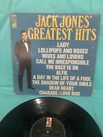 JACK JONES GREATEST HITS VINTAGE VINYL LP