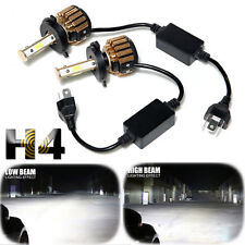 H4 HB2 9003 4-Side LED Headlight Conversion Kit 2300W 295000LM High Lo Beam Bulb