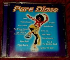 "VARIOUS ARTISTS ""PURE DISCO"" MUSIC CD in Original Case! ***FREE SHIPPING***"