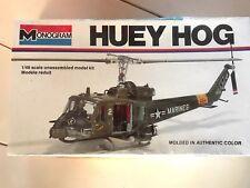 Monogram 1:48 Huey Hog USMC Free Shipping Sealed Military Helicopter