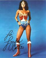 LYNDA CARTER SEXY WONDER WOMAN TV AUTOGRAPH SIGNED SIGNATURE 8X10 PHOTO POSTER