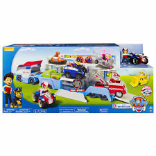 PAW Patrol Patroller Rescue Transport Vehicle Semi-truck Trailer + Ryder & ATV