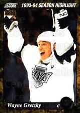 1993-94 Score USA Gold #662 Wayne Gretzky