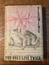 Ian Fleming You Only Live Twice First Edition First Impression ( Ex Library )