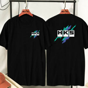 New 2021 HKS Evolution Logo Tuning Parts Manufacturer T-shirt Free Shipping