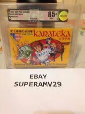 KARATEKA FAMICOM JAPAN VGA 85+ ARCHIVAL CASE