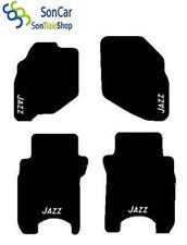 TAPIS HONDA JAZZ SUR MESURE broderie : Jazz blanc + 4 Fixer Compatible