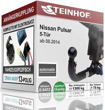 Attelage remorque amovible Nissan Pulsar 5-tür à partir de 08.2014+e - Jeu spécifique au 13p