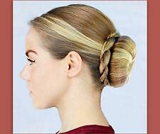 twist bun wrap wedding bridal dance ballet updo accent braid hair extension