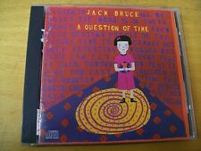 JACK BRUCE A QUESTION OF TIME  CD CREAM 1 BONUS TRACK
