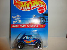 Hot Wheels #393 Blue VW Baja Bug w/5 Spoke Wheels