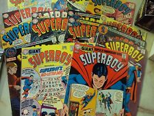 SUPERBOY COMICS LOT 144 149-154 155 156 158 161 162 163 165 166 169-171 175 ST