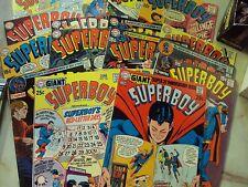 SUPERBOY COMICS LOT 144 149-154 155 156 158 161 162 163 165 166 169-171 175 ST