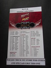 2009 AFL SELECT PINNACLE CARD NO.3 CHECKLIST 3