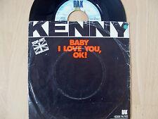 ♫ Single ♫ 4)  KENNY  / Baby I love you, OK!