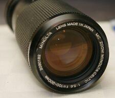 Minolta MD 100-200MM F:5.6 Film Camera LENS