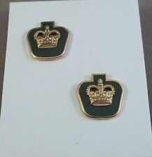 Canada / Canadian Forces Warrant Officer Rank Insignia Pair / Long Shank