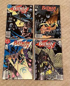 DC Comics BATMAN YEAR 3 Miniseries Parts 1-4 #436-439