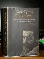 Randall Jarrell 1914-65, Critical Essays His Poetry, Adrienne Rich, James Dickey