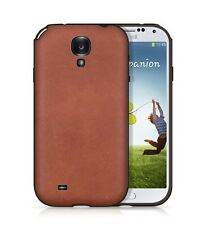 Backhug Luxury Soft Case for Samsung Galaxy S4 Leather TPU Suede,Vintage Classic