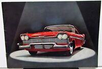 1958 Plymouth Fury Belvedere Savoy Plaza Wagon Forward Look Sales Brochure Orig