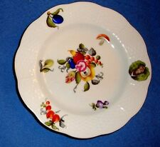 "Herend 6.5"" Salad/Sweets Plate in Fruits & Flowers Motif #516/BFR     I-17"