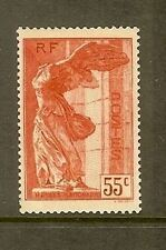 "FRANCE STAMP TIMBRE N° 355 "" VICTOIRE SAMOTHRACE 55c ROUGE "" NEUF xx A VOIR a01s"