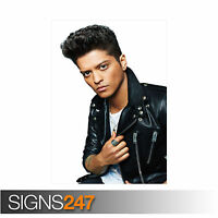 BRUNO MARS (2133) Picture Poster Print Art A0 A1 A2 A3 A4 - 2nd HALF PRICE!