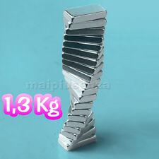 10 super MAGNETI potenti 10x5x2 magnete CALAMITA NEODIMIO calamite per FIMO