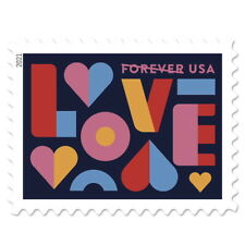 USPS New Love  Pane of 20