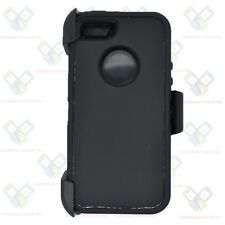 Black For Apple iPhone 5 / 5S / SE Defender Case w/ Belt Clip Fits Otterbox