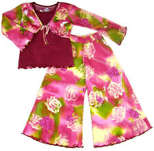 9 piece Boutique Girl Clothes Outfits Set Dress Skirt Pants Top 5T Indygo Mim-Pi